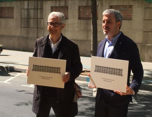 Barcelona obrirà la futura Casa de les Lletres el 2019