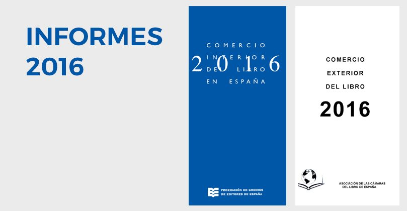 Estudis sobre el Comerç Interior i Exterior del Llibre 2016